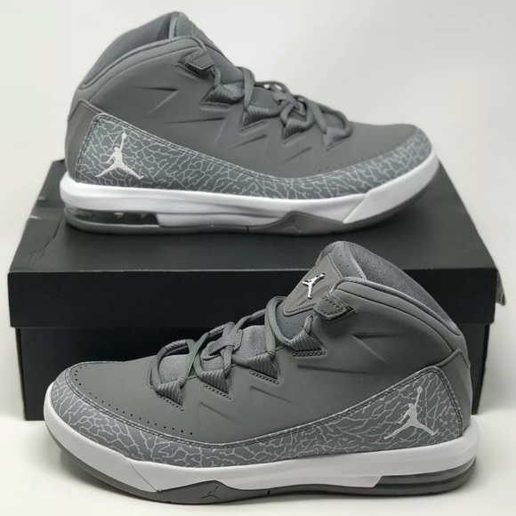 Jordan Air Deluxe Mens Cool Grey Basketball shoes 45890e6a7